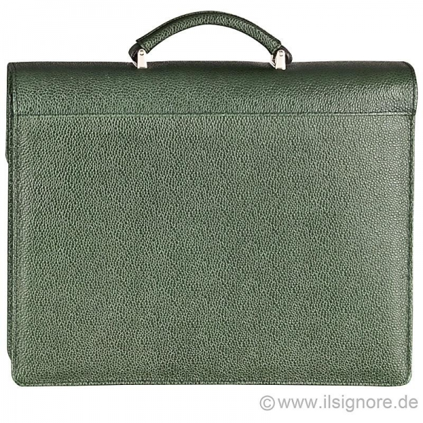 Handmacher bag dark green