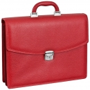 Handmacher bag red scotchgrain leather