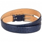 Preview: Handmacher ostrich skin belts