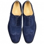 Mobile Preview: Handmacher Trend 89 aus Velourleder blau