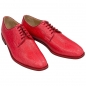 Handmacher model Trend 80 salmon leather red