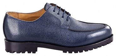 Handmacher model 28 scotchgrain blue