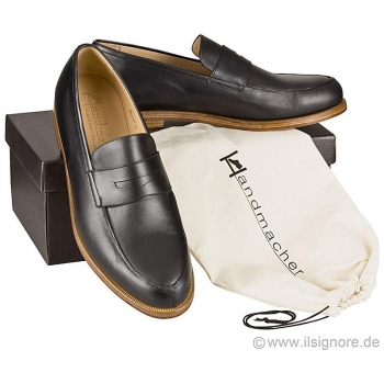 Handmacher model 54 black calf skin
