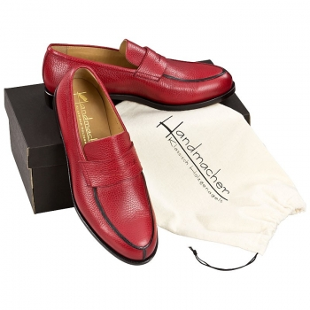 Handmacher model 54 scotch grain harrison red