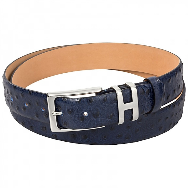 Handmacher ostrich leather belts